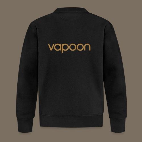 Vapoon Logo simpel 01 - Unisex Baseball Jacke