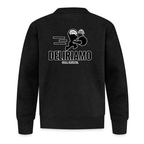 DELIRIAMO CLOTHING BRAINBOMB - Felpa da baseball unisex