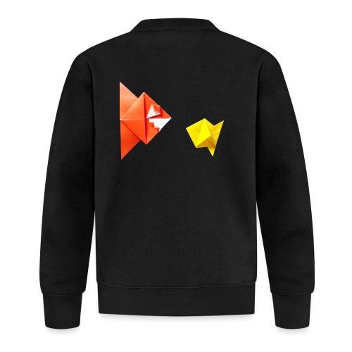 Origami Piranha and Fish - Fish - Pesce - Peixe - Unisex Baseball Jacket