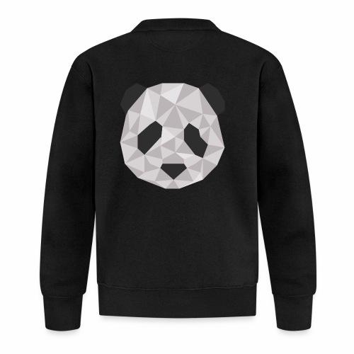 panda géométrique - Veste zippée Unisexe