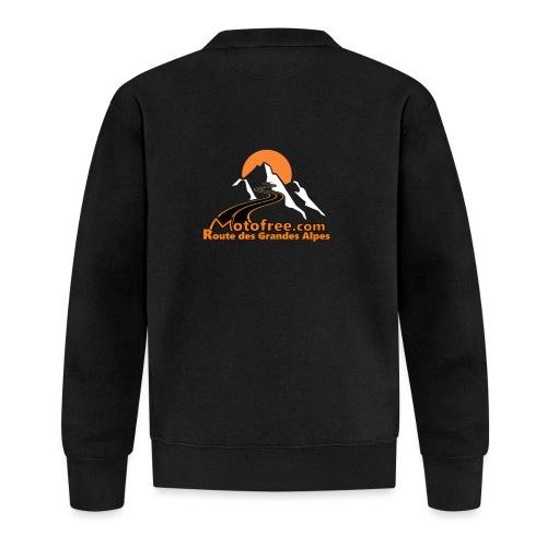 logo motofree orange - Veste zippée