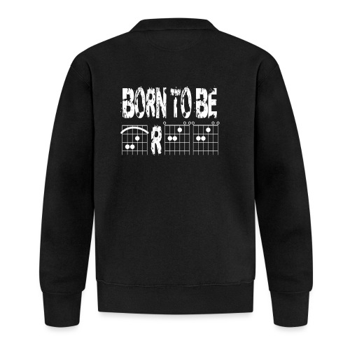 Born to be free in guitar chords - Unisex Baseball Jacket