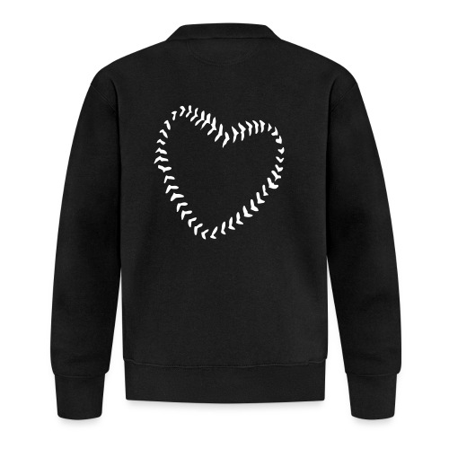 2581172 1029128891 Baseball Heart Of Seams - Baseball Jacket