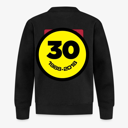 30 Jaar Belgian New Beat Smiley - Baseballjack