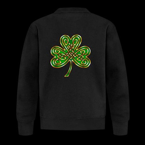 Celtic Knotwork Shamrock - Baseball Jacket