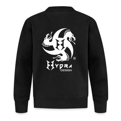 Hydra DESIGN - logo white - Felpa da baseball unisex