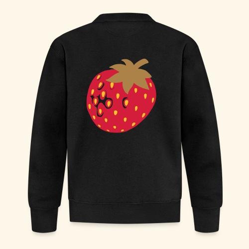Erdbeere - Unisex Baseball Jacke