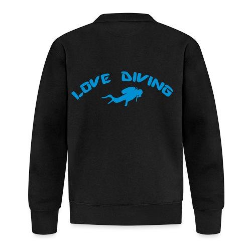 love diving - Unisex Baseball Jacke