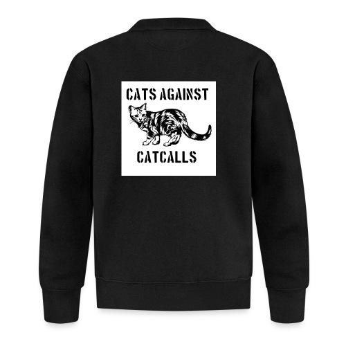 Cats against catcalls - Baseball Jacket