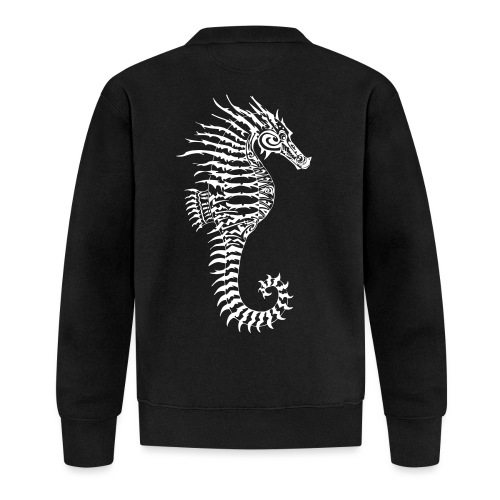 Alien Seahorse Invasion - Baseball Jacket