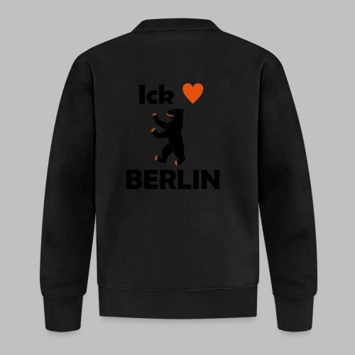 Ick liebe ❤ Berlin - Baseball Jacke