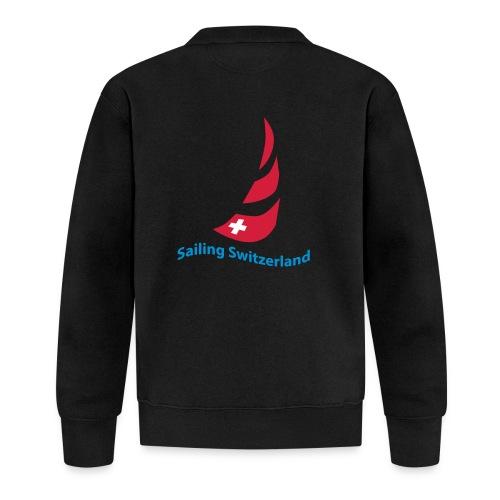 logo sailing switzerland - Baseball Jacke
