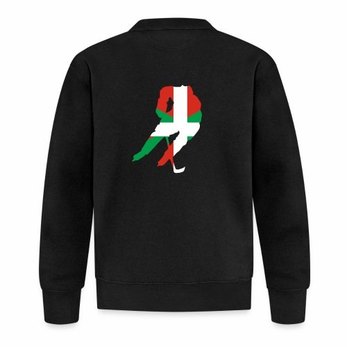 hockeyeur et basque - Veste zippée Unisexe