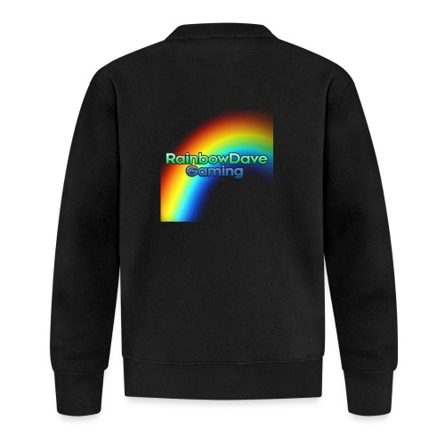 RainbowDave Gaming Logo - Baseball Jacket