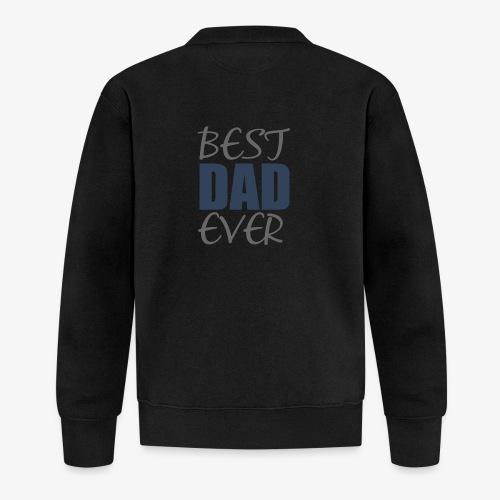 Best Dad Ever - Unisex Baseball Jacket