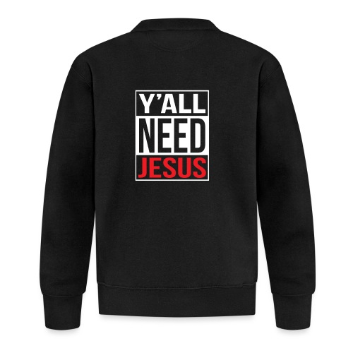 Y'all need Jesus - christian faith - Baseball Jacke