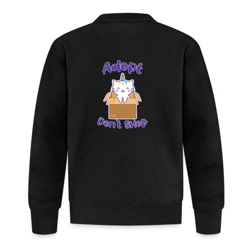 Adopt dont shop Tierheim Kinder Katzen Kitten - Unisex Baseball Jacke