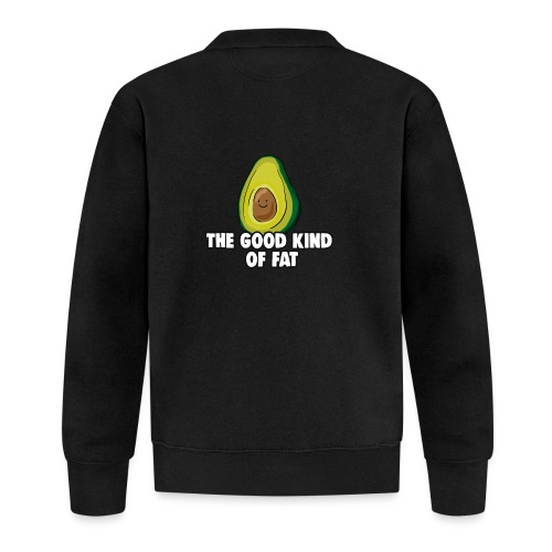 Avocado: The Good Kind of Fat - Baseball Jacket