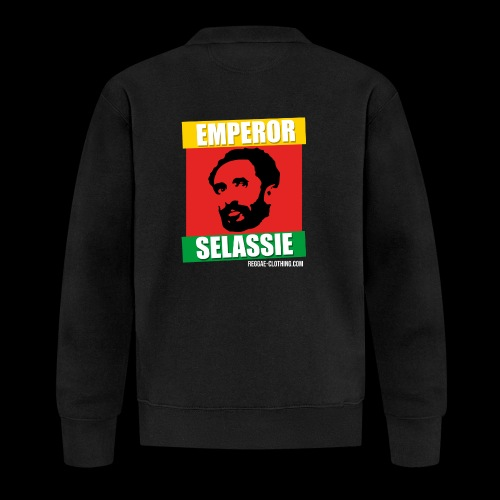 EMPORER SELASSIE red gold green - Baseball Jacke