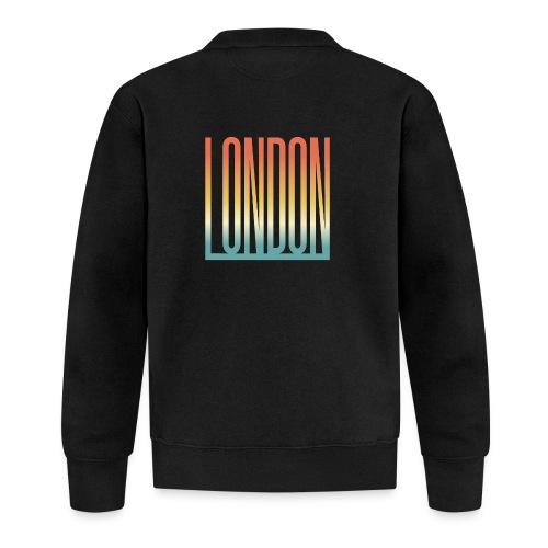 London Souvenir England Simple Name London - Baseball Jacke