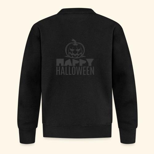 happy halloween pumpkin logo - Chaqueta de béisbol