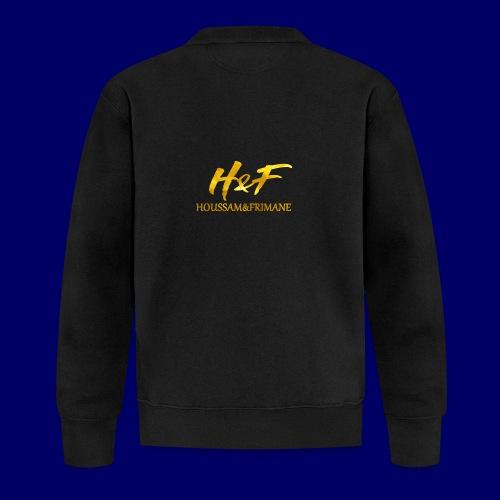 h f gold2 - Felpa da baseball