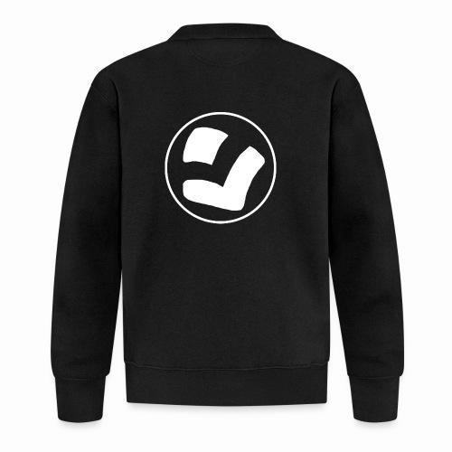 LaidPark White Logo - Unisex baseball-takki
