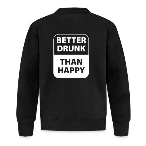 mieux ivre qu'heureux - Veste zippée