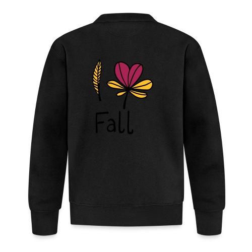 Fall in love - Unisex Baseball Jacke