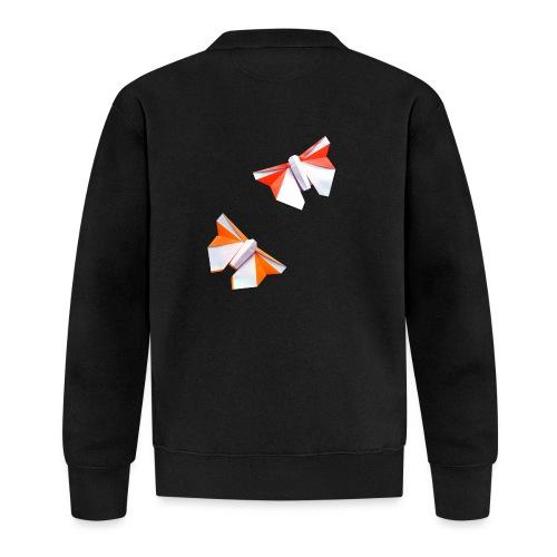 Butterflies Origami - Butterflies - Mariposas - Unisex Baseball Jacket