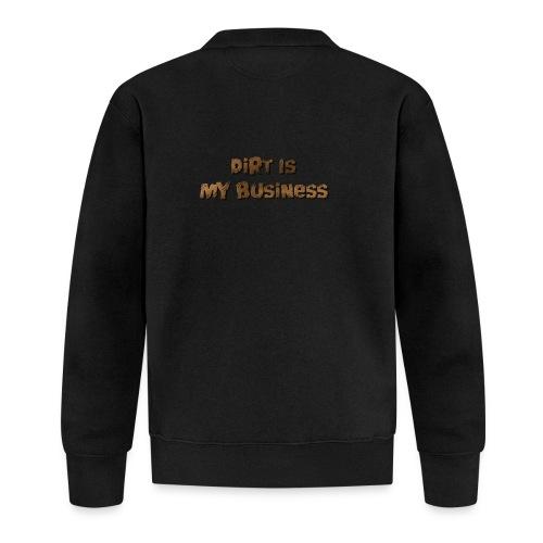 Dirt is my business - Unisex Baseball Jacket
