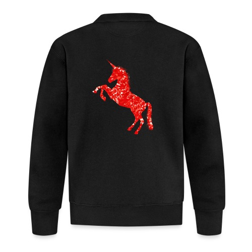 unicorn red - Kurtka bejsbolowa