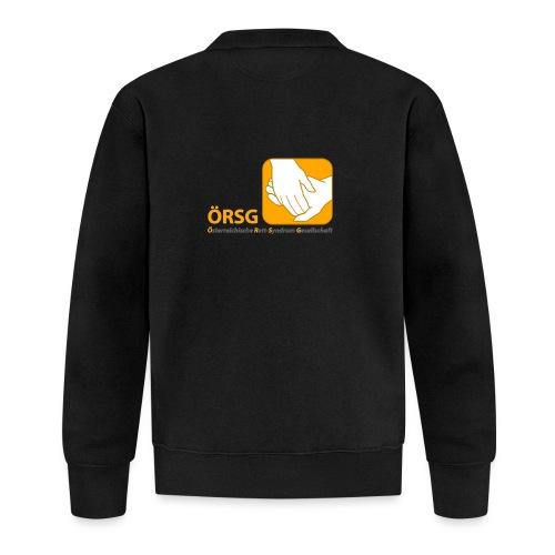 Logo der ÖRSG - Rett Syndrom Österreich - Baseball Jacke