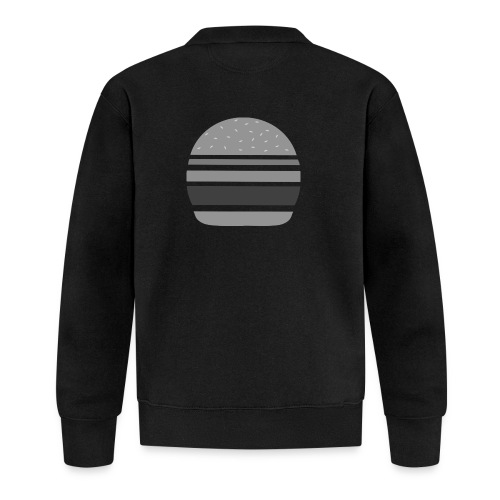 Logo_panhamburger_gris - Veste zippée