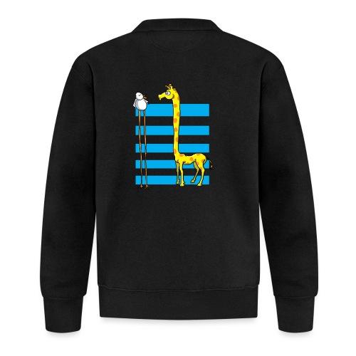 La girafe et l'échassier - Veste zippée Unisexe