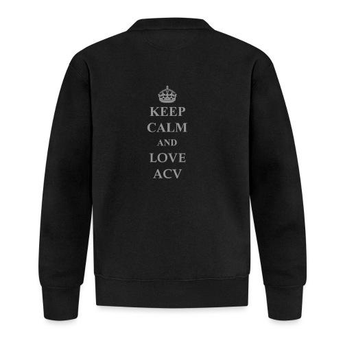 Keep Calm and Love ACV - Schriftzug - Baseball Jacke