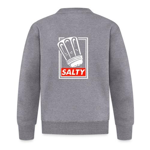 Salty white - Baseball Jacket