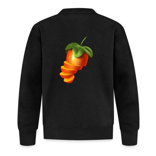 Sliced Sweaty Fruit - Baseball Jacket