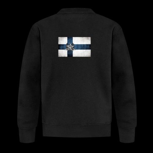 Suomen lippu - Unisex baseball-takki