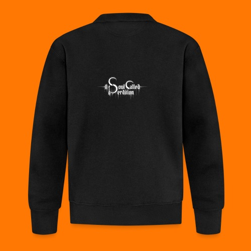 A Soul Called Perdition In Silence -hoodie - Unisex Baseball Jacket