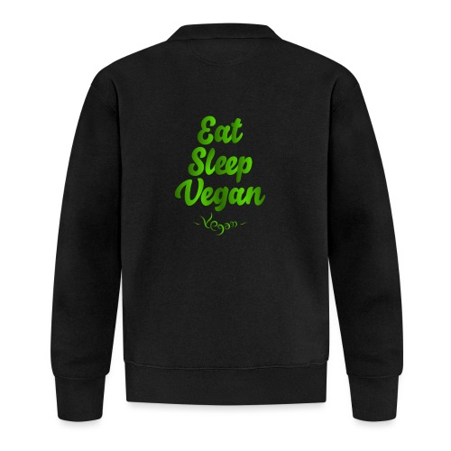 Eat Sleep Vegan - Unisex baseball-takki