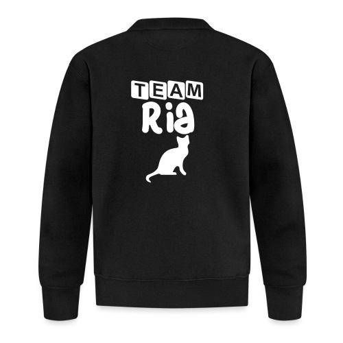 Team Ria - Unisex Baseball Jacket