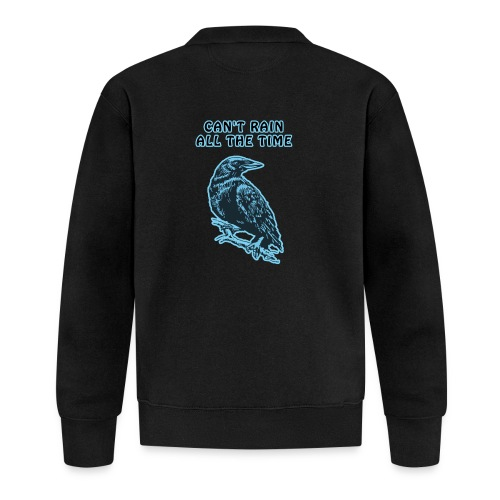 Cyan Crow - Can't Rain All The Time - Unisex Baseball Jacket