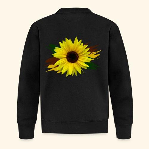 Sonnenblume, Sonnenblumen, Blume, floral, blumig - Baseball Jacke