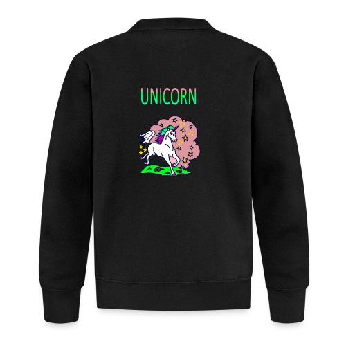 Einhorn unicorn - Baseball Jacke