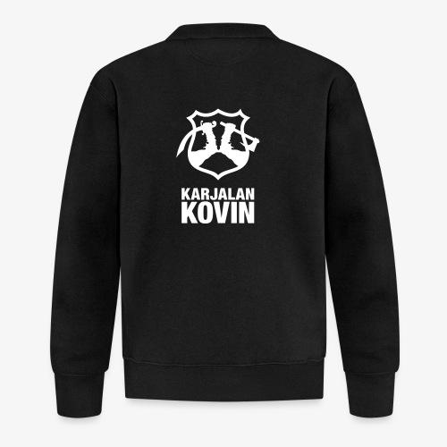 Karjalan Kovin Iso logo - Baseball-takki