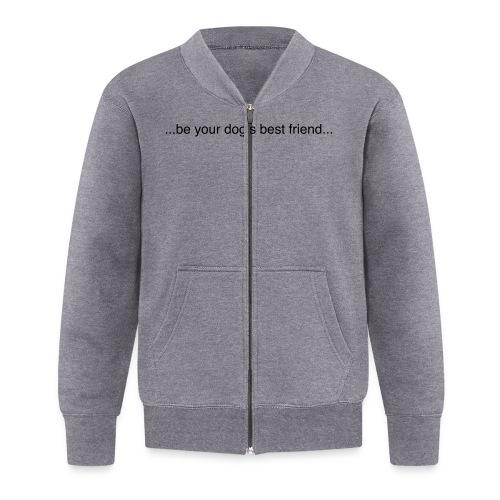 GoodBad svart CMYK (1) - Baseball Jacket