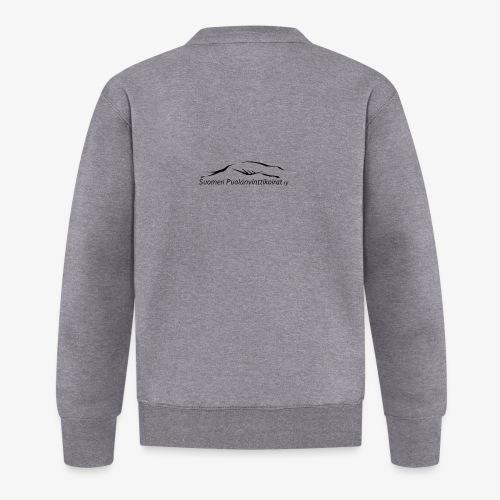 SUP logo musta - Unisex baseball-takki