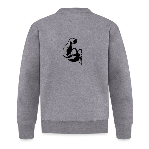 PITT BIG BIZEPS Muskel-Shirt Stay strong! - Unisex Baseball Jacke