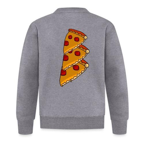 pizza - Baseballjakke